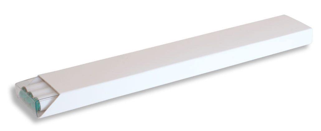 Etui, Karton-Schiebeetui, H5020-2, weiß